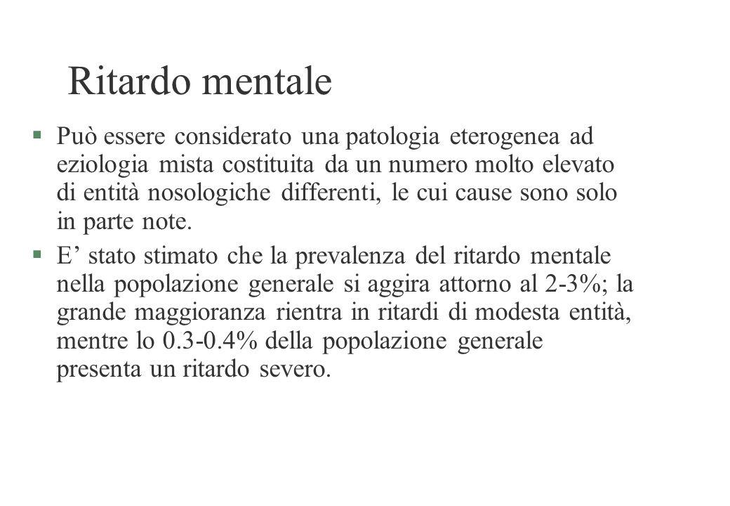 Ritardo mentale