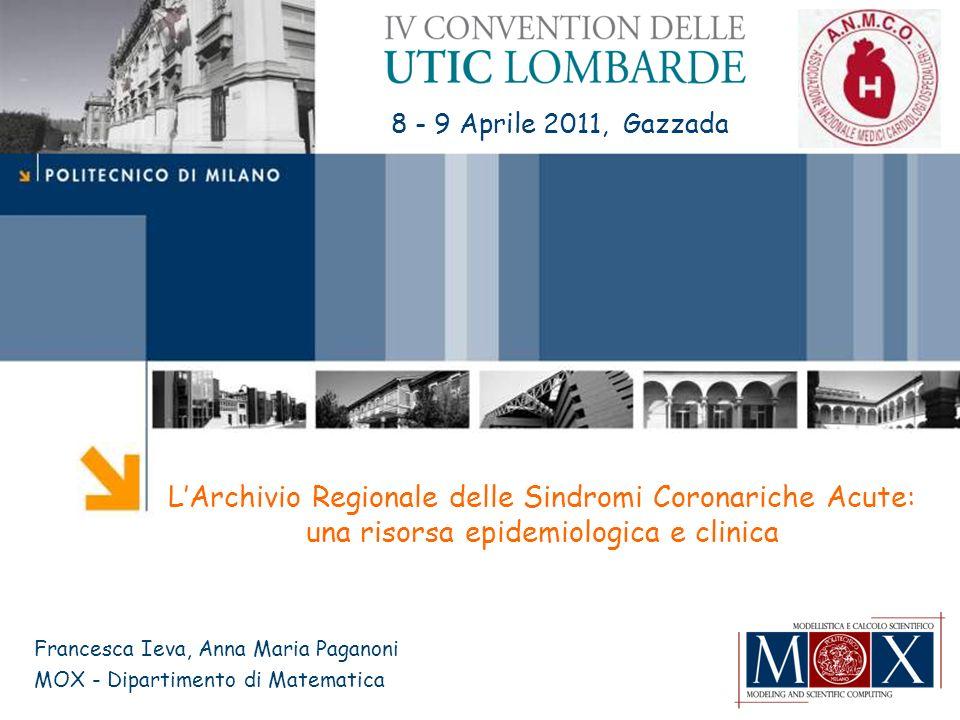 L'Archivio Regionale delle Sindromi Coronariche Acute:
