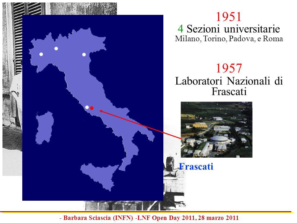 - Barbara Sciascia (INFN) -LNF Open Day 2011, 28 marzo 2011