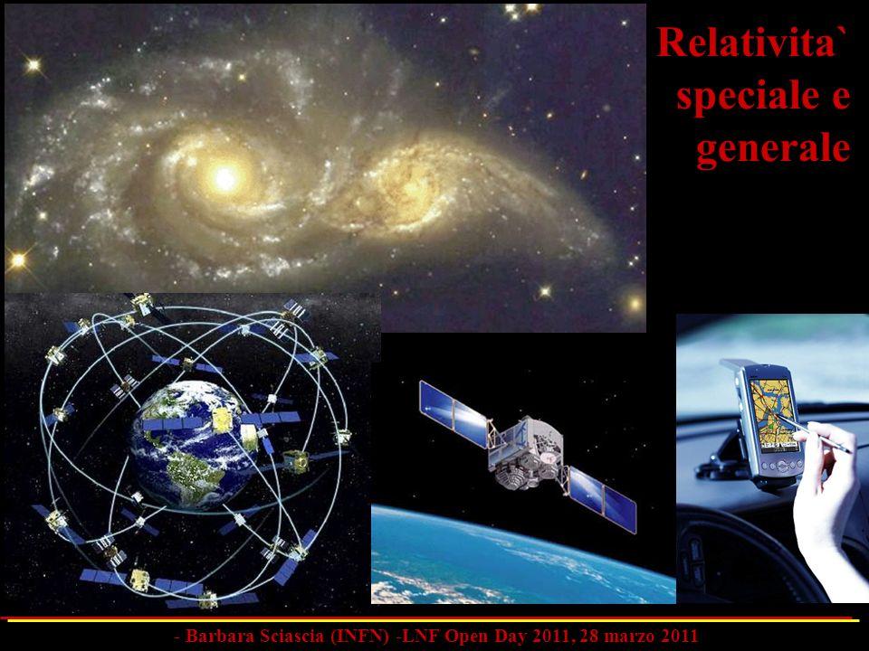 Relativita` speciale e generale