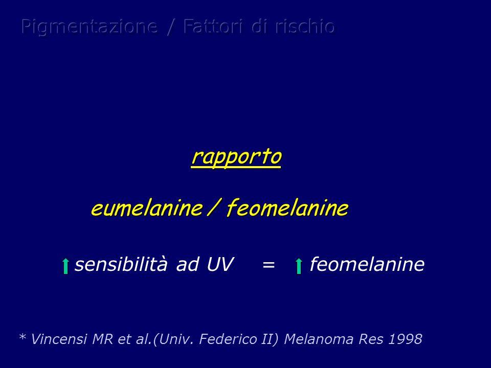 eumelanine / feomelanine