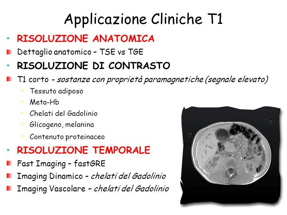 Applicazione Cliniche T1