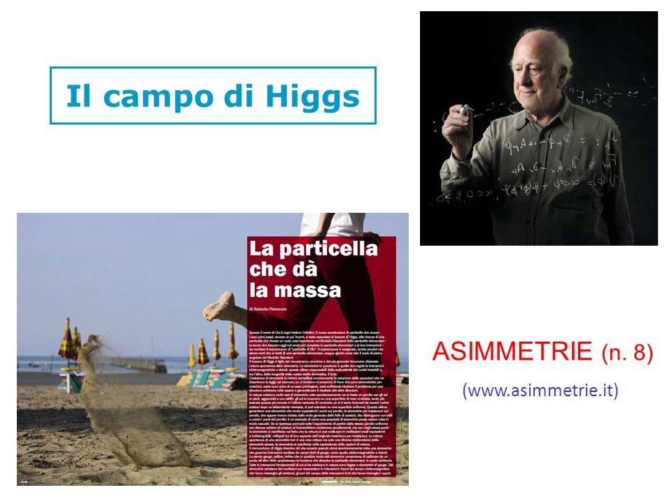 Il campo di Higgs ASIMMETRIE (n. 8) (www.asimmetrie.it)