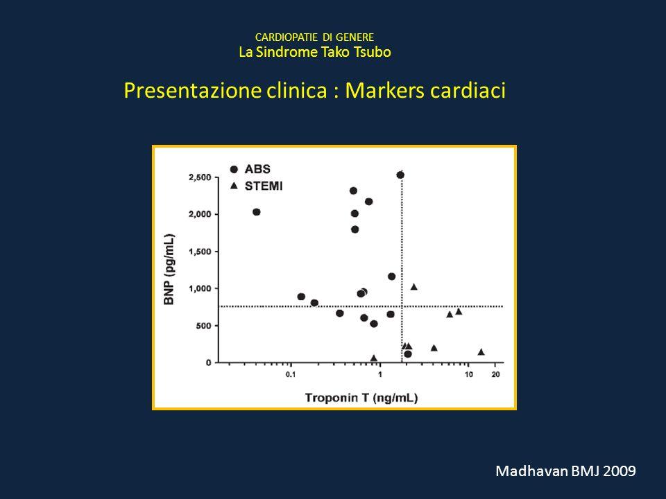 Presentazione clinica : Markers cardiaci