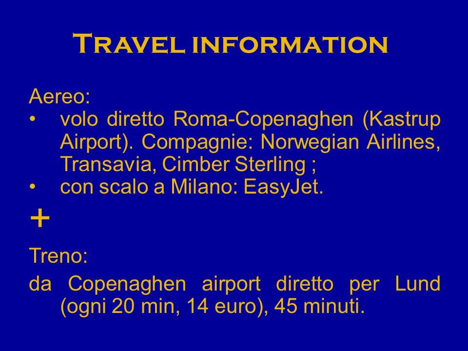 + Travel information Aereo: