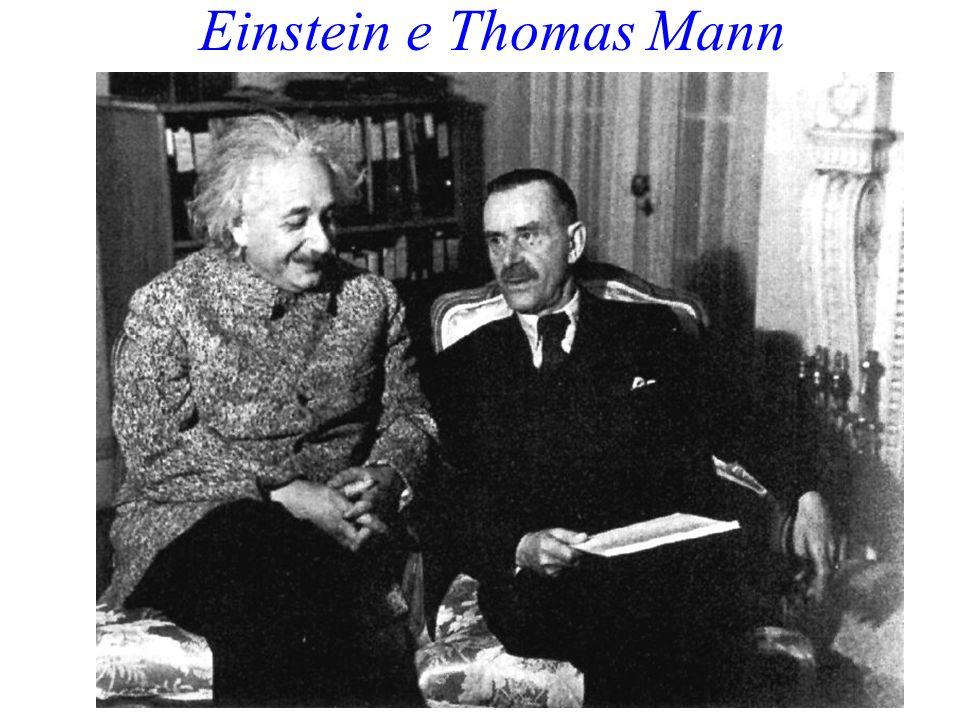 Einstein e Thomas Mann