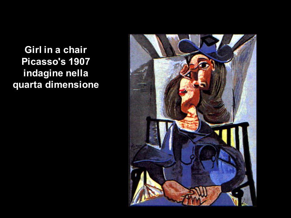 Girl in a chair Picasso s 1907 indagine nella quarta dimensione
