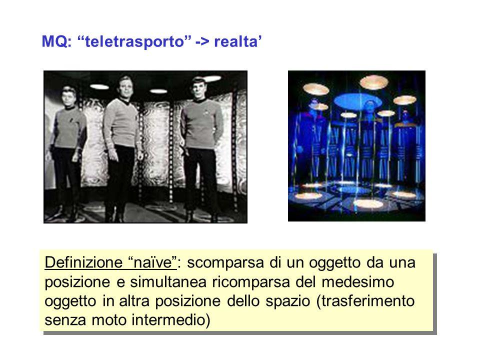 MQ: teletrasporto -> realta'