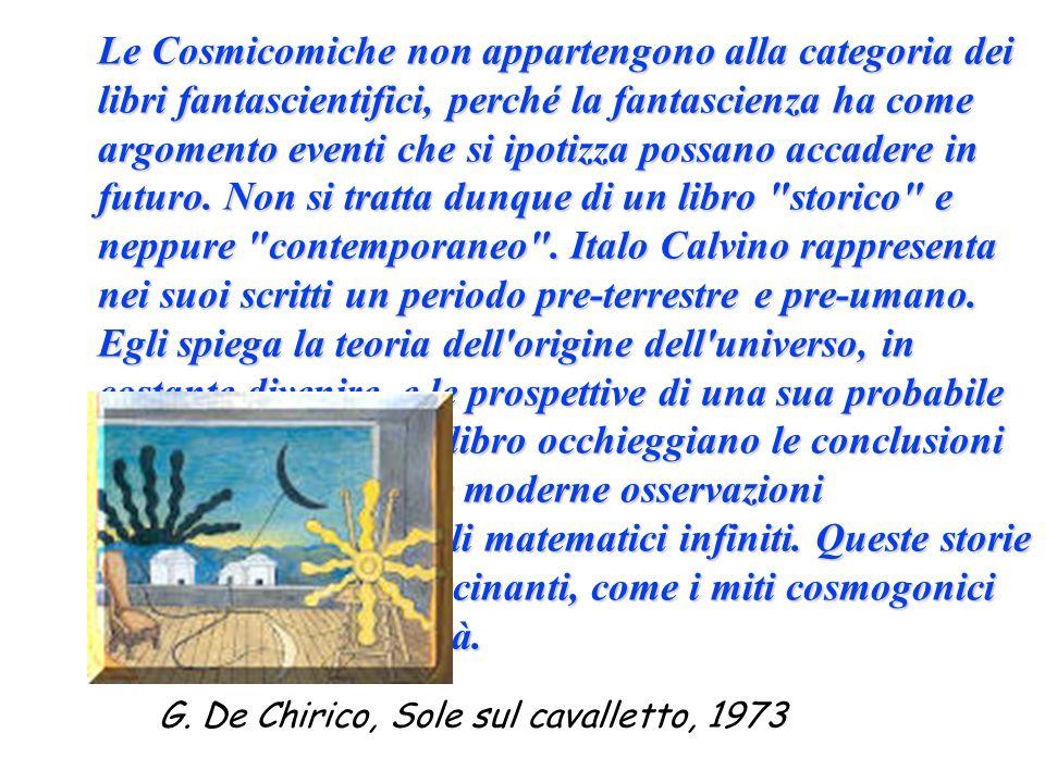 G. De Chirico, Sole sul cavalletto, 1973