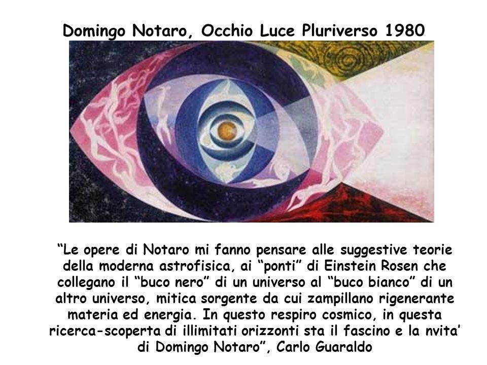 Domingo Notaro, Occhio Luce Pluriverso 1980
