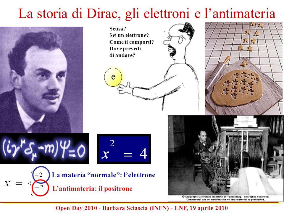 La storia di Dirac, gli elettroni e l'antimateria