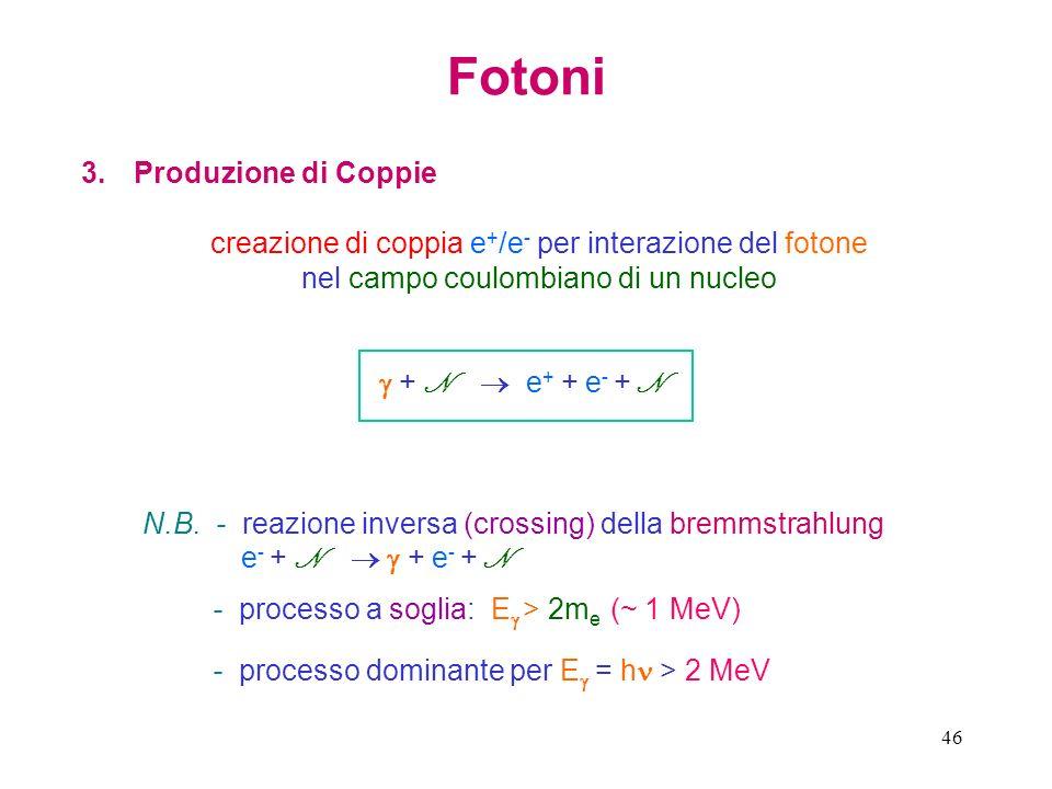 Fotoni Produzione di Coppie