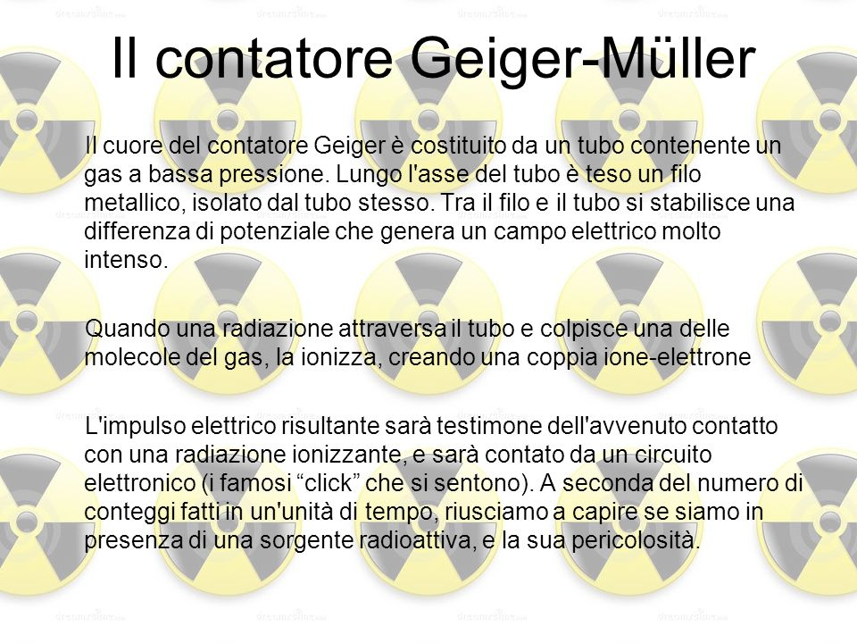 Il contatore Geiger-Müller