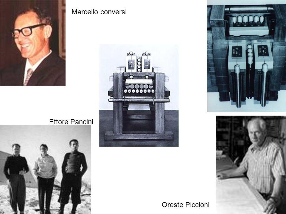 Marcello conversi Ettore Pancini Oreste Piccioni Incontrri di Fisica