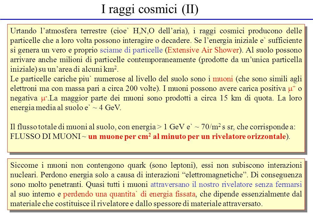 I raggi cosmici (II)