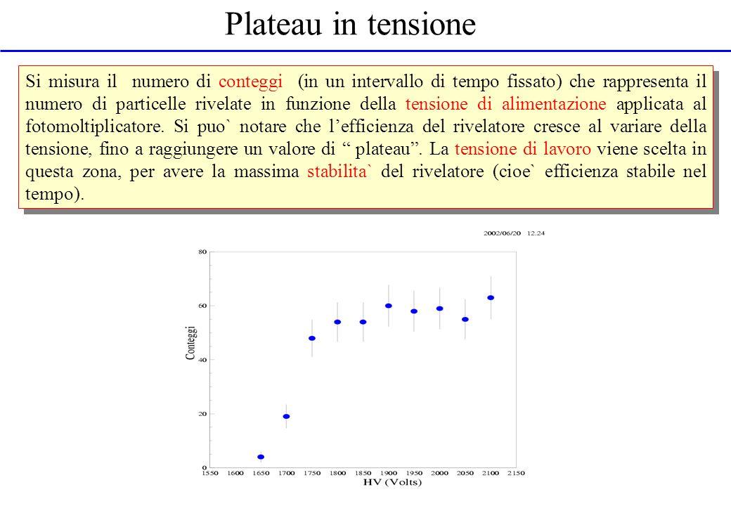 Plateau in tensione