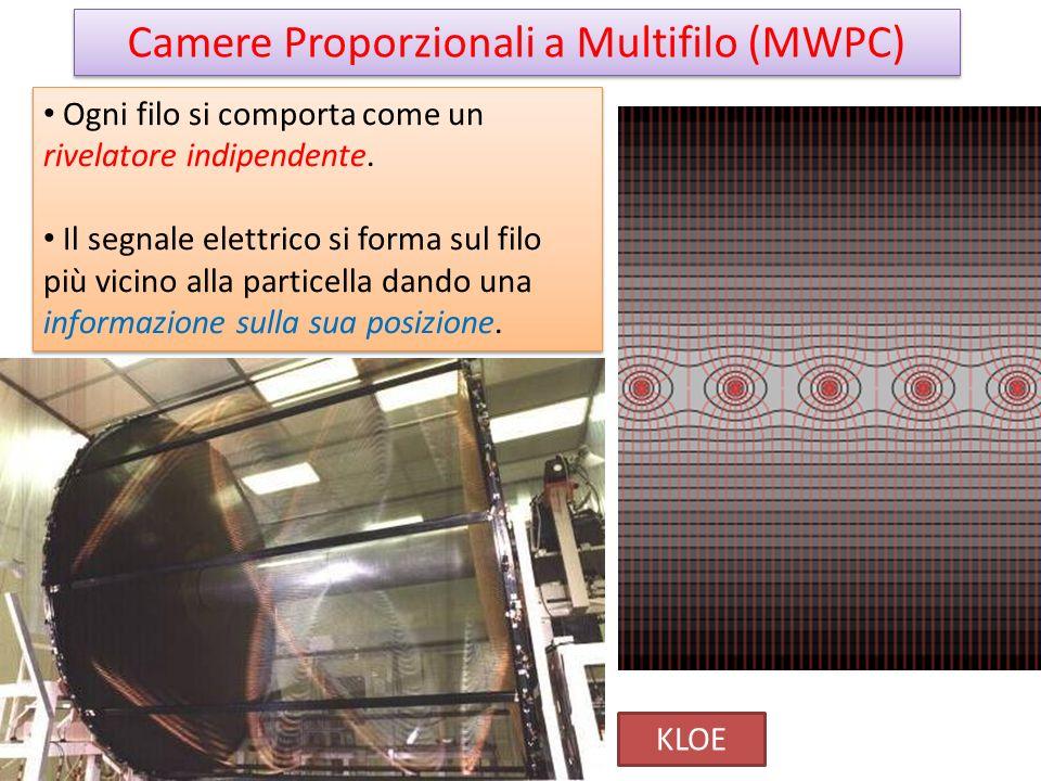 Camere Proporzionali a Multifilo (MWPC)
