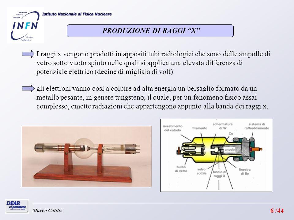 PRODUZIONE DI RAGGI X