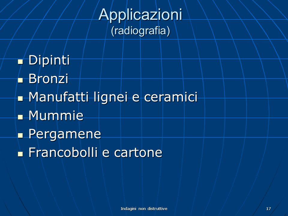 Applicazioni (radiografia)