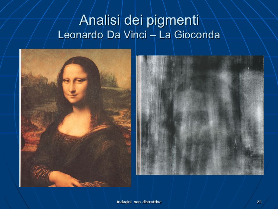 Analisi dei pigmenti Leonardo Da Vinci – La Gioconda