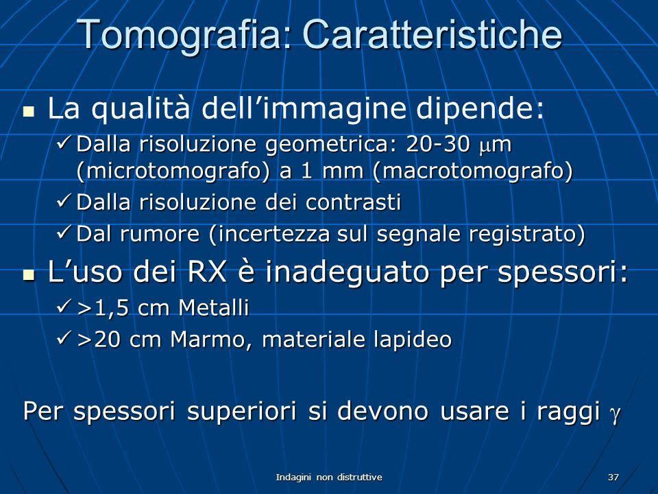 Tomografia: Caratteristiche