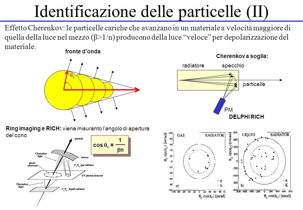 Identificazione delle particelle (II)