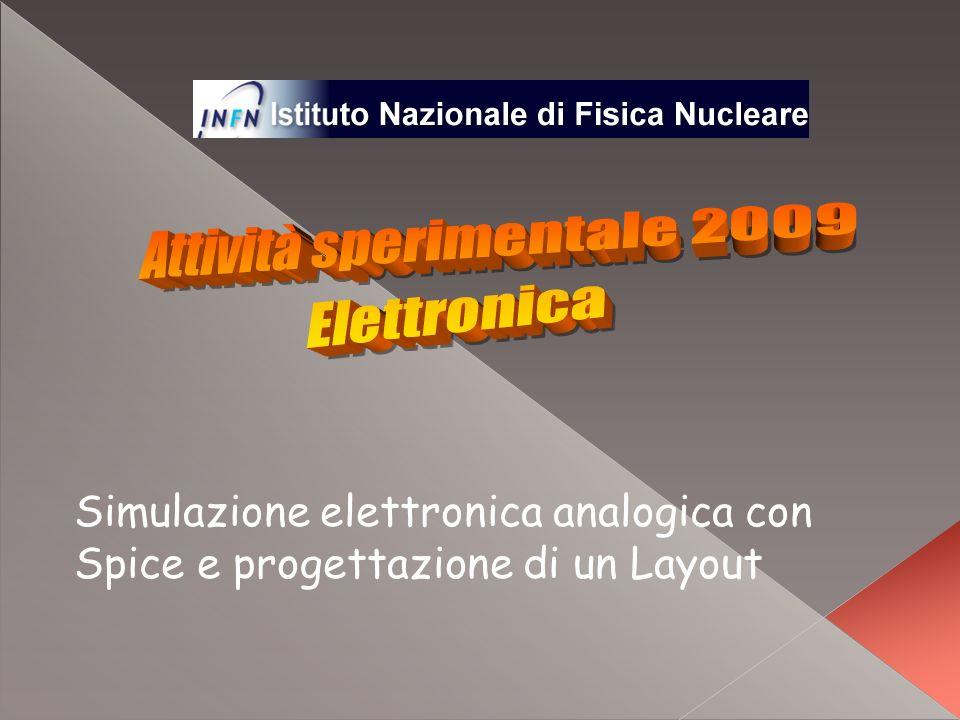 Attività sperimentale 2009