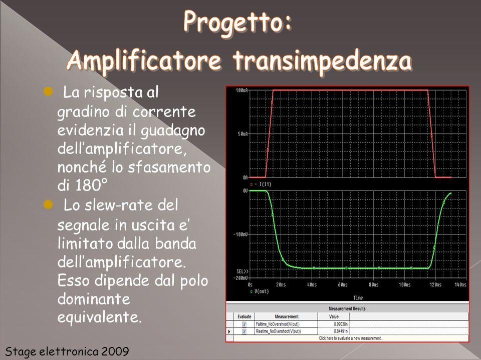 Amplificatore transimpedenza