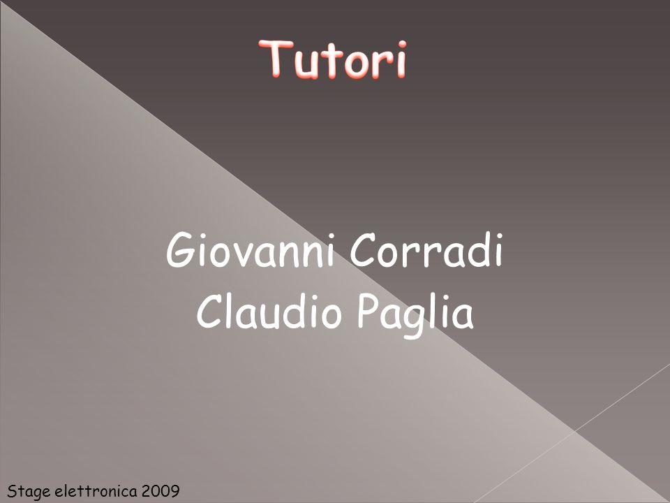 Giovanni Corradi Claudio Paglia Stage elettronica 2009 32