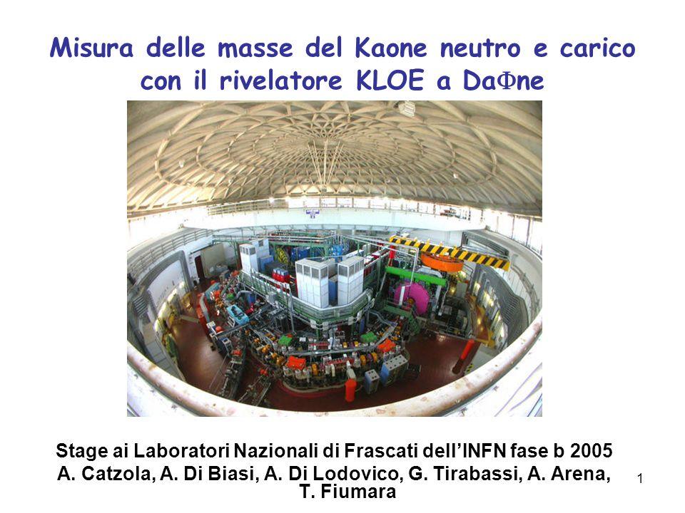 Stage ai Laboratori Nazionali di Frascati dell'INFN fase b 2005