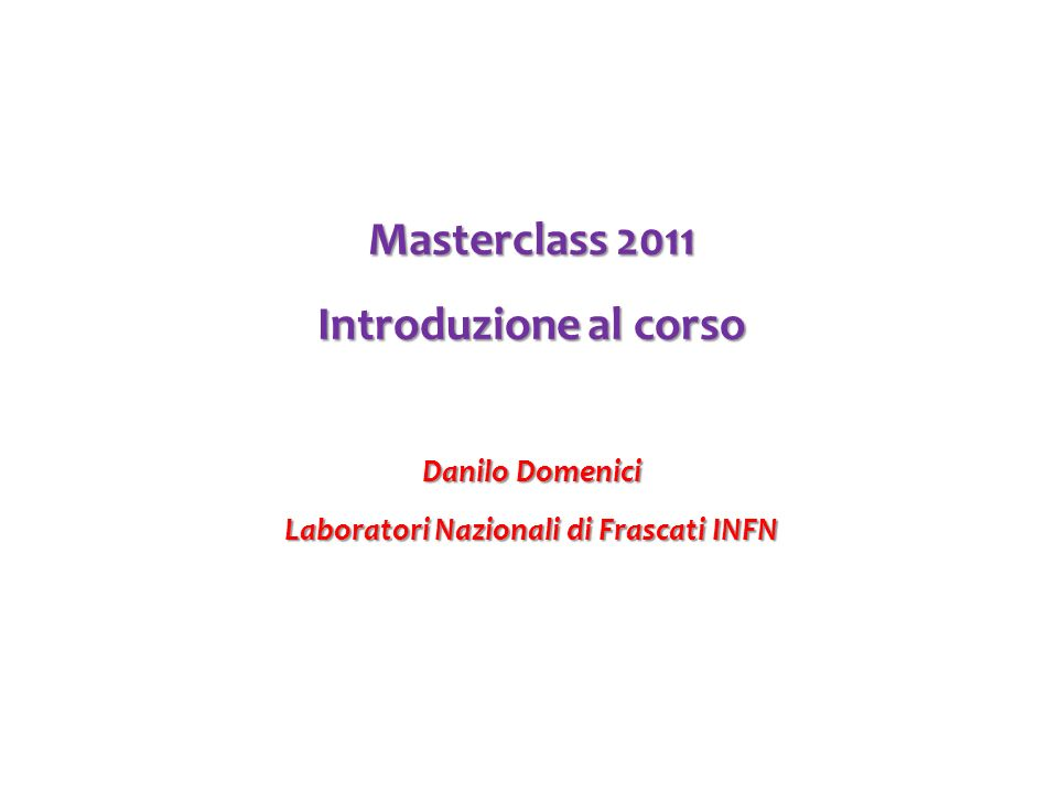 Laboratori Nazionali di Frascati INFN
