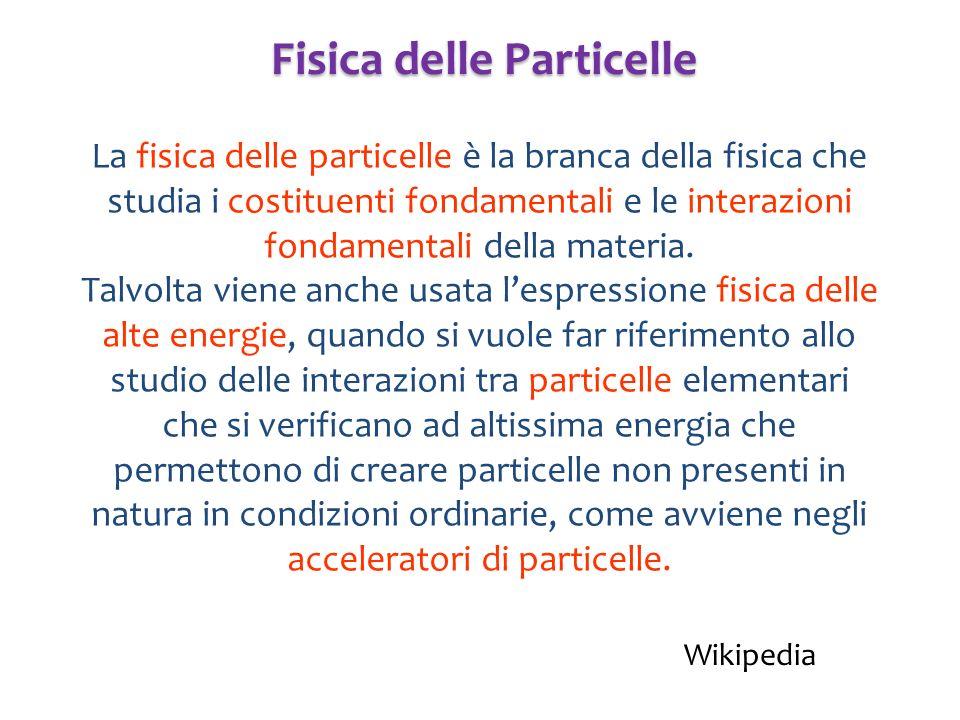 Fisica delle Particelle
