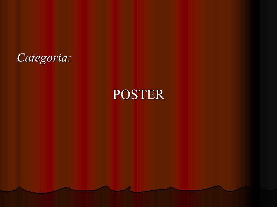 Categoria: POSTER