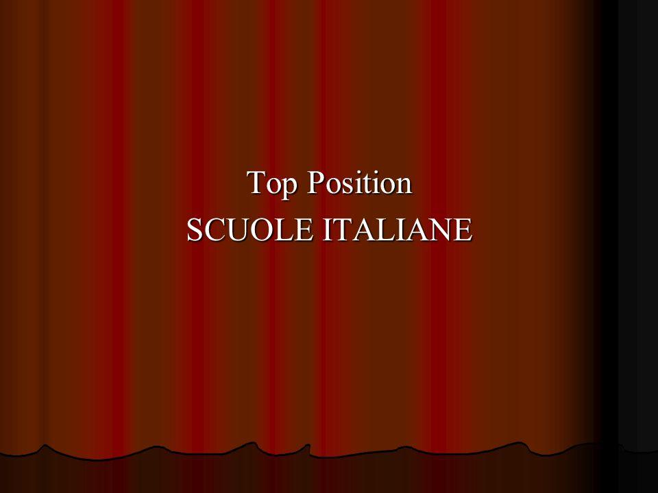 Top Position SCUOLE ITALIANE