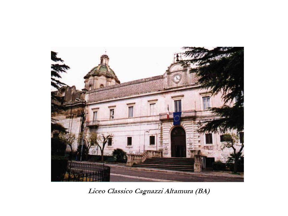 Liceo Classico Cagnazzi Altamura (BA)
