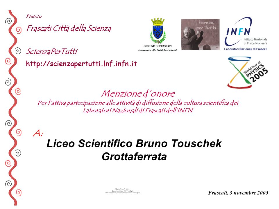 Liceo Scientifico Bruno Touschek