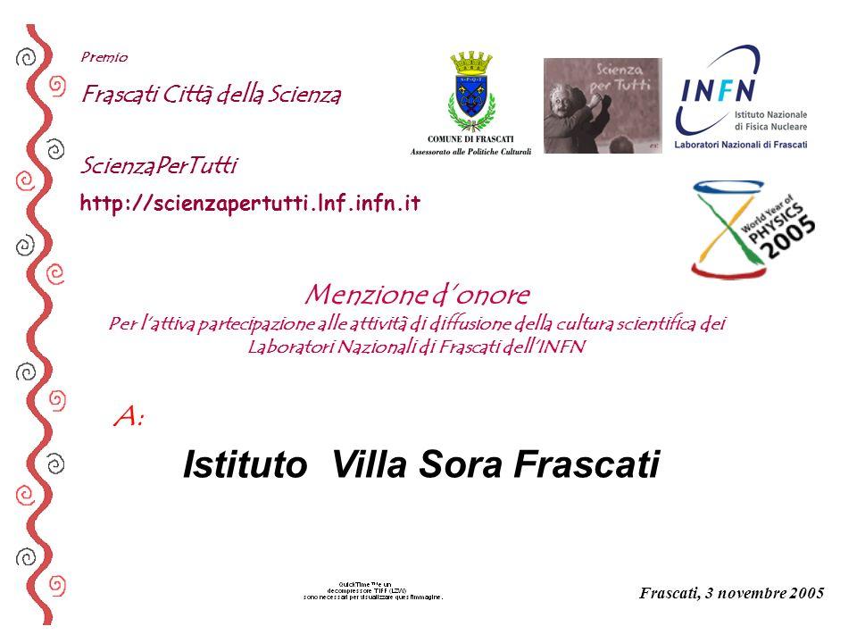 Istituto Villa Sora Frascati
