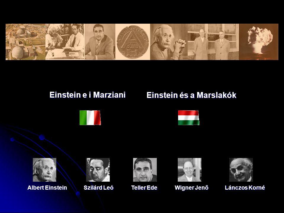 Einstein és a Marslakók