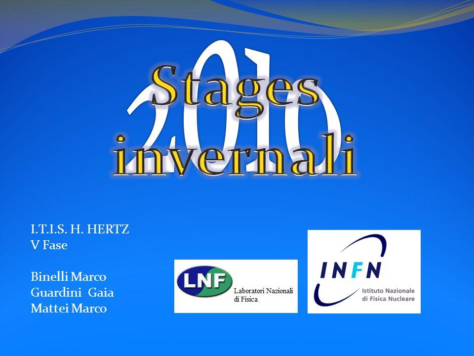 2010 Stages invernali I.T.I.S. H. HERTZ V Fase Binelli Marco