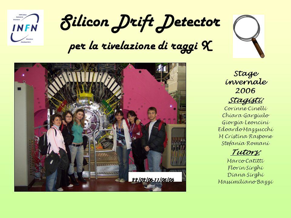 Silicon Drift Detector per la rivelazione di raggi X