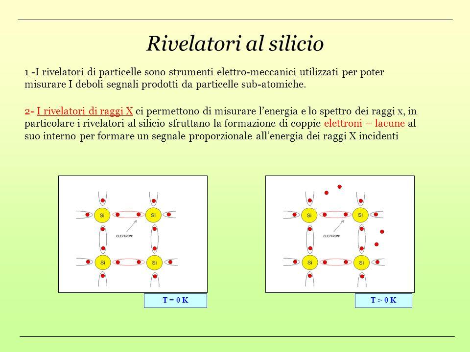 Rivelatori al silicio