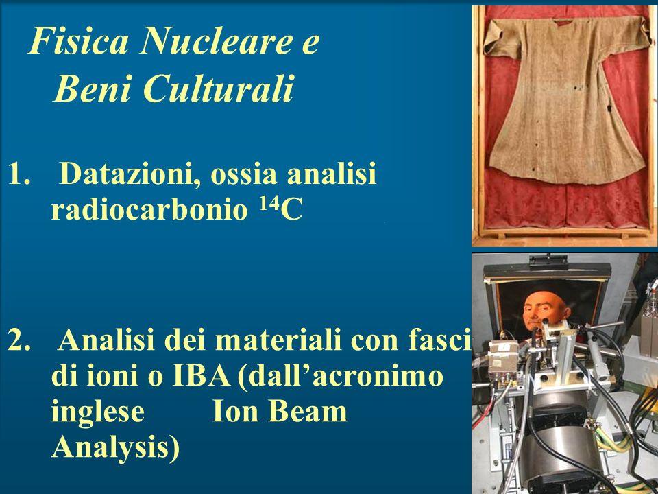 Fisica Nucleare e Beni Culturali