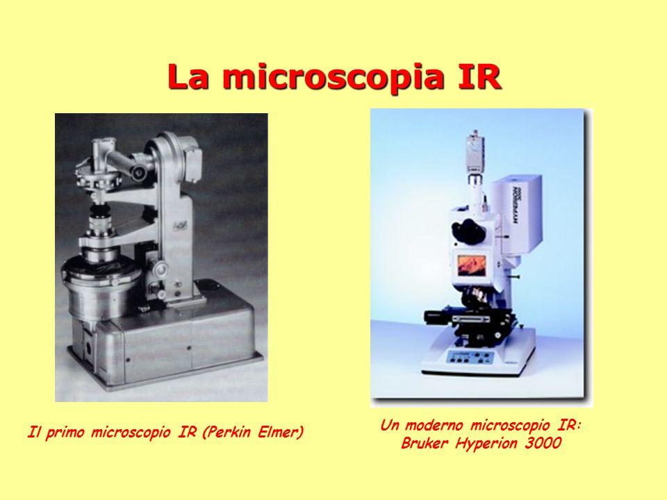 Un moderno microscopio IR: