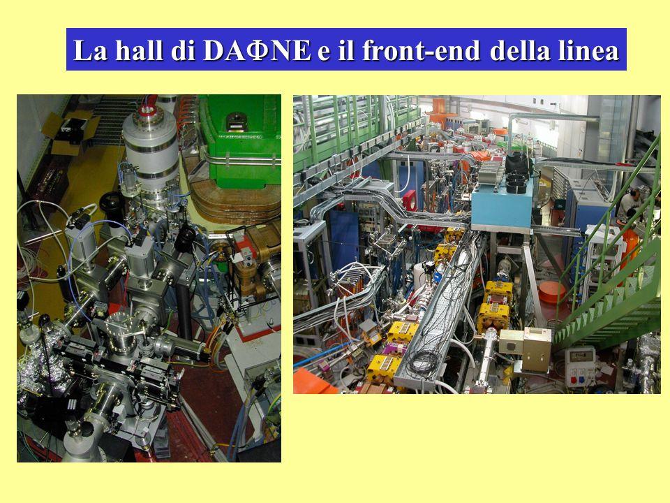 La hall di DANE e il front-end della linea