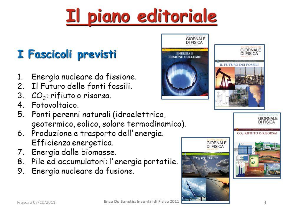 Enzo De Sanctis: Incontri di Fisica 2011