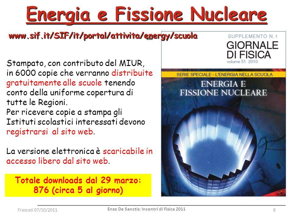 Energia e Fissione Nucleare