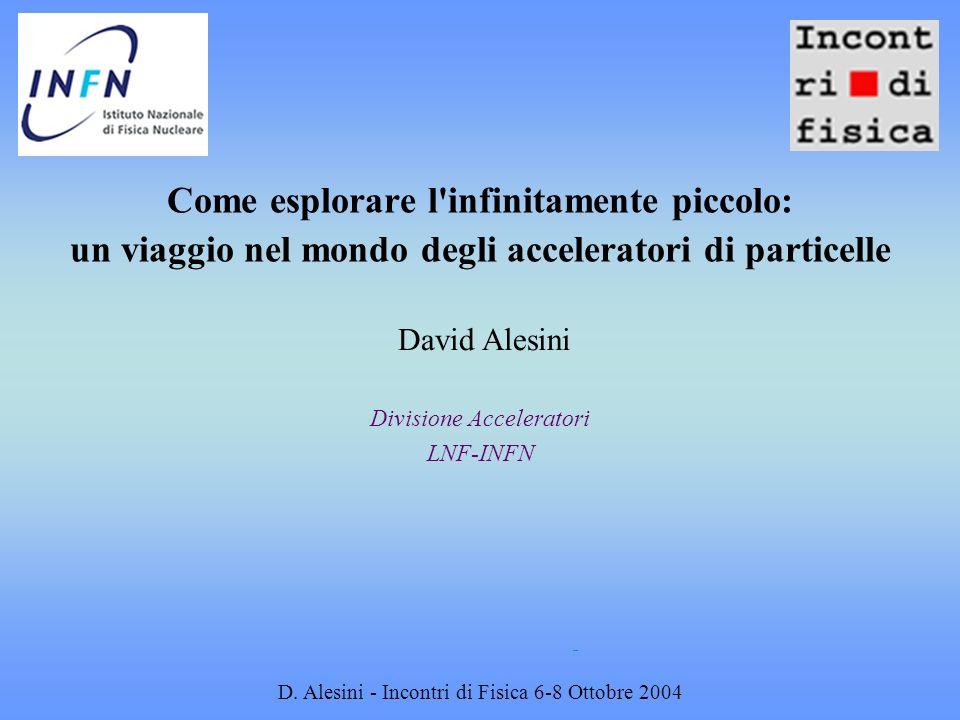 Divisione Acceleratori LNF-INFN