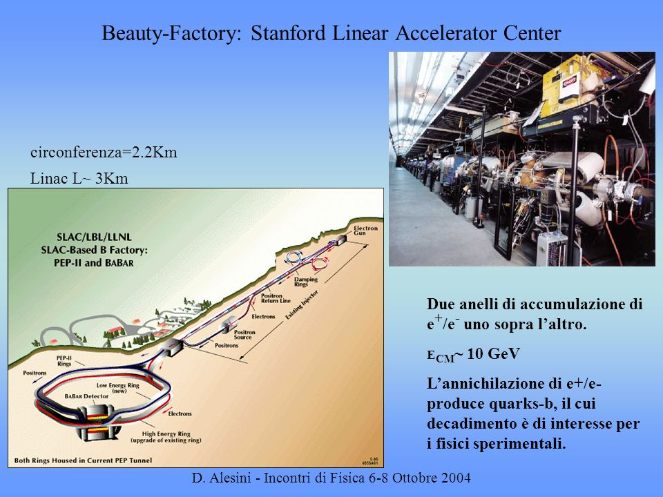 Beauty-Factory: Stanford Linear Accelerator Center