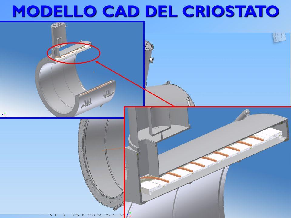 MODELLO CAD DEL CRIOSTATO