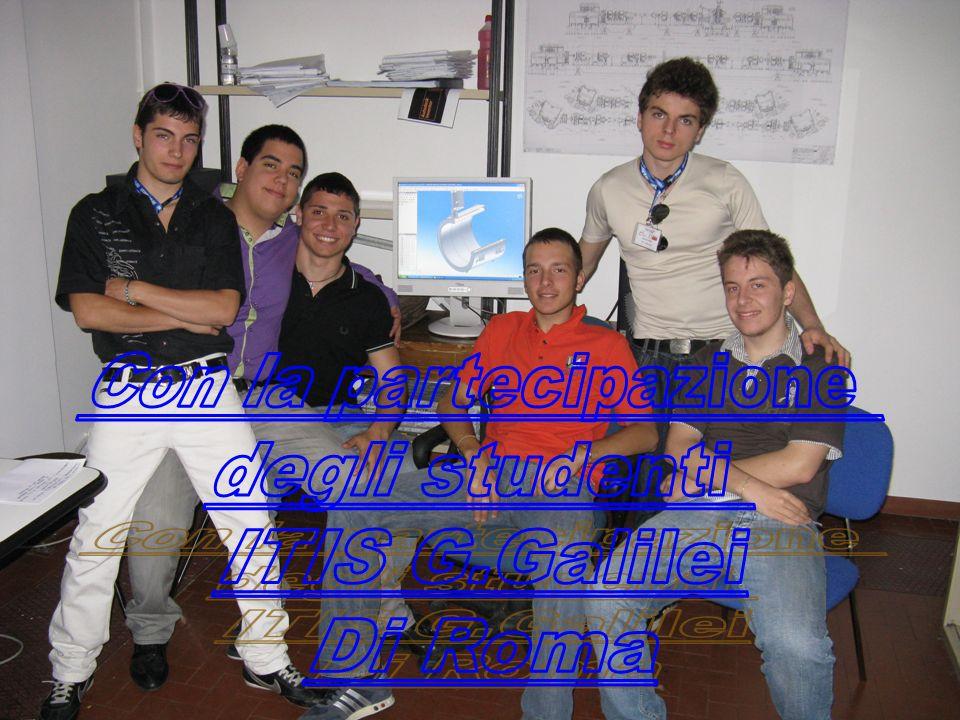 Con la partecipazione degli studenti ITIS G.Galilei Di Roma